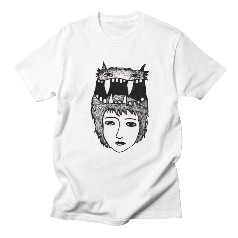 monsterlady Men's T-Shirt by tigrowna