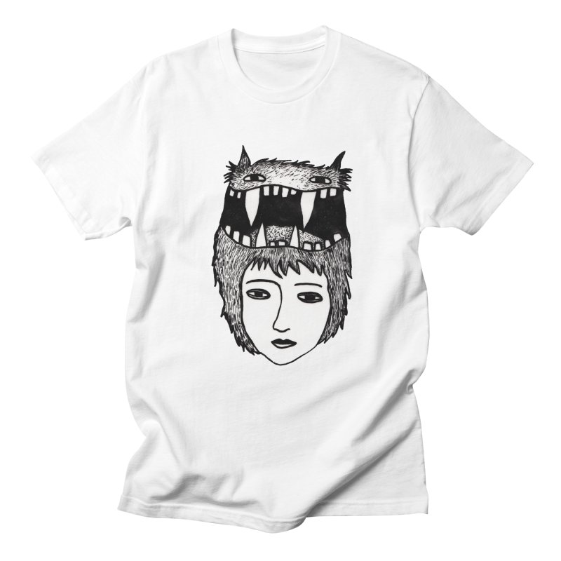 monsterlady Men's Regular T-Shirt by tigrowna