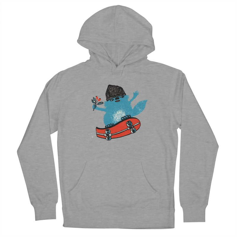 skate Women's French Terry Pullover Hoody by tigrowna