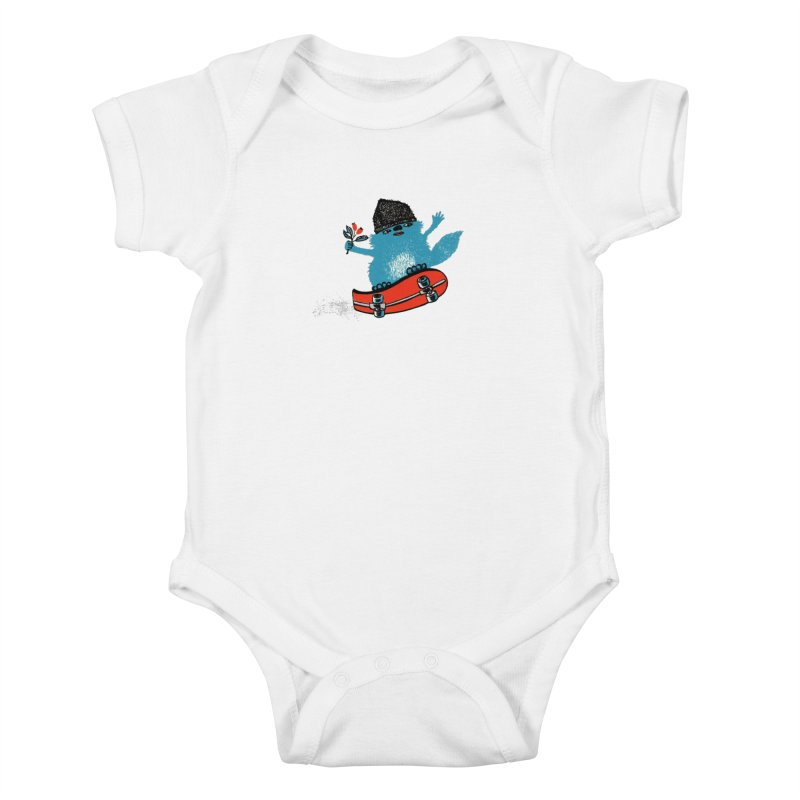 skate Kids Baby Bodysuit by tigrowna