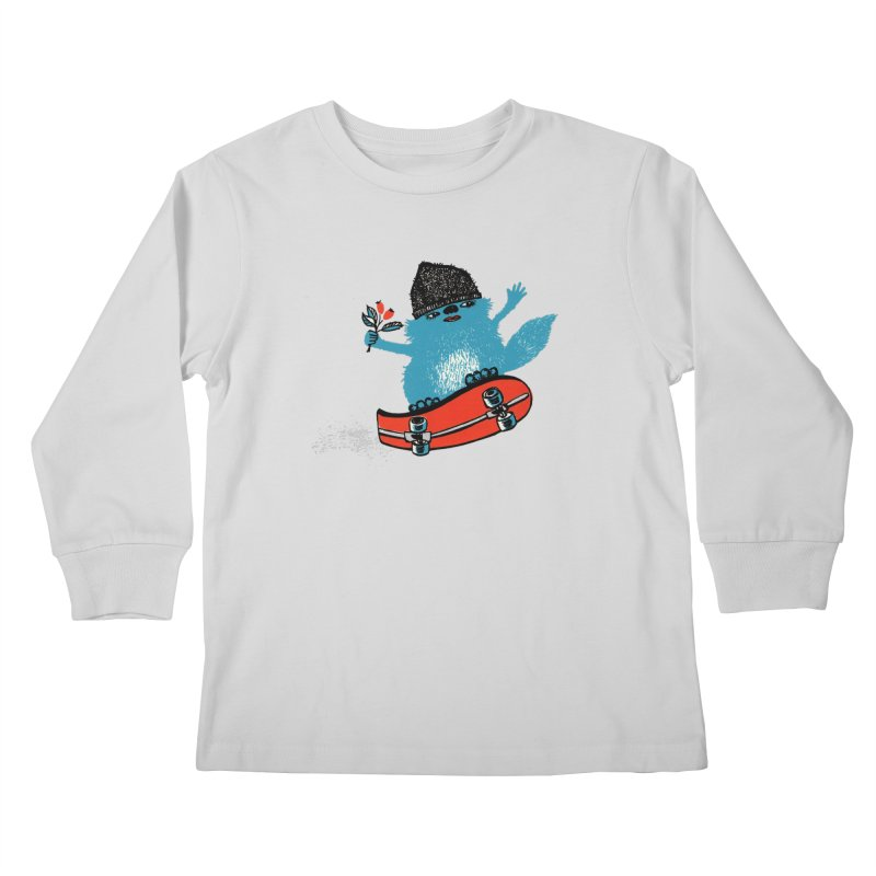 skate Kids Longsleeve T-Shirt by tigrowna