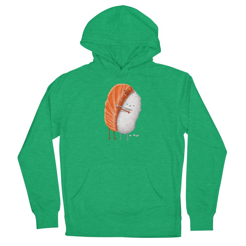 Sushi Hug Women's French Terry Pullover Hoody by T2U