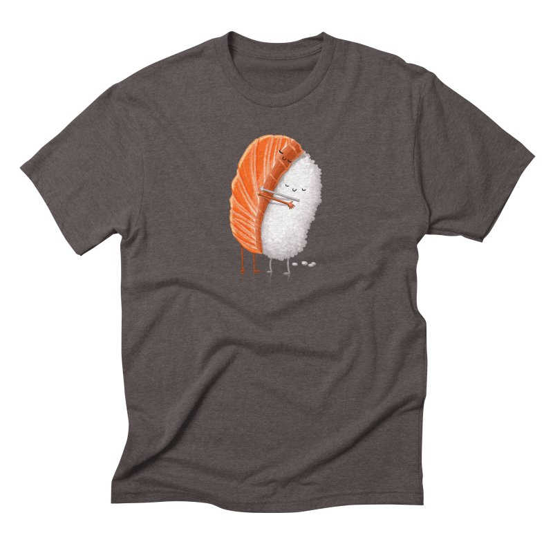 Sushi Hug Men's Triblend T-Shirt by T2U