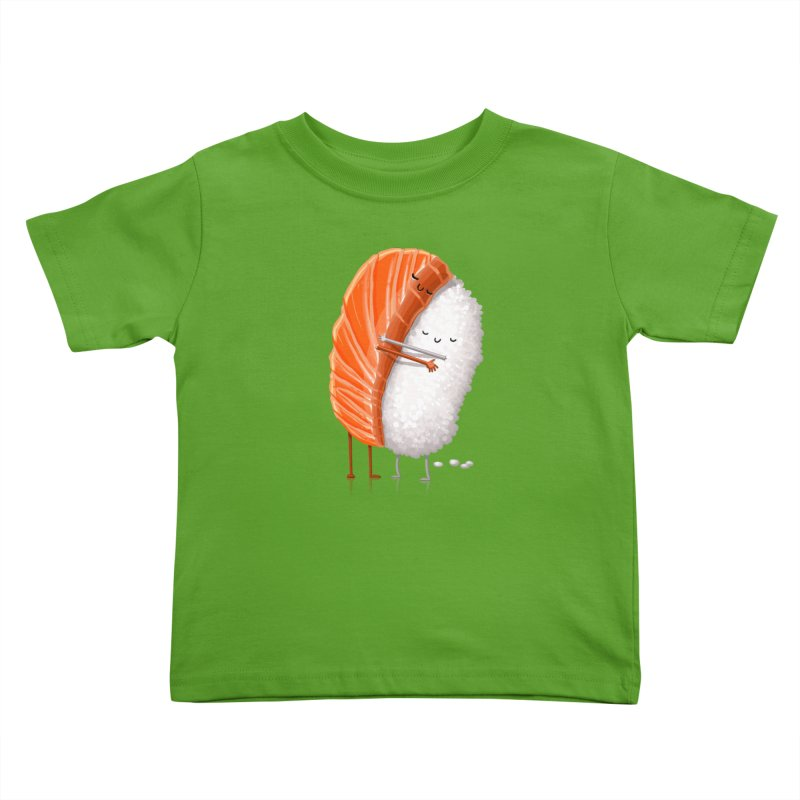 Sushi Hug Kids Toddler T-Shirt by T2U