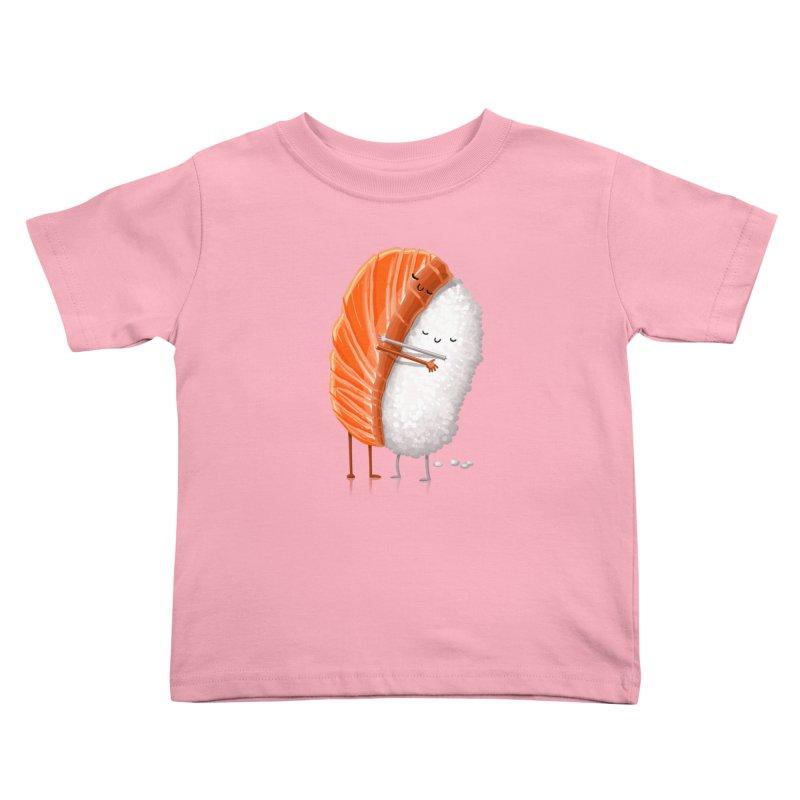 Sushi Hug Kids Toddler T-Shirt by Tiago Möller Art Shop