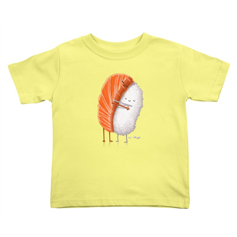 Sushi Hug Kids Toddler T-Shirt by Tiago Möller Art Shop