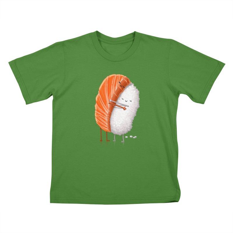 Sushi Hug Kids T-shirt by Tiago Möller Art Shop