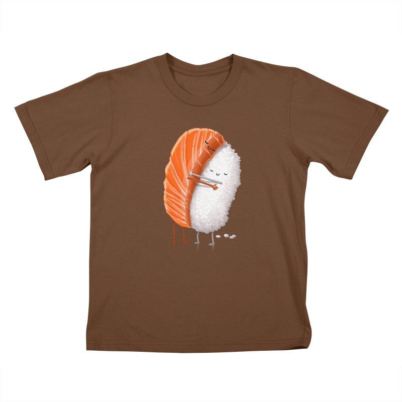 Sushi Hug Kids T-Shirt by T2U