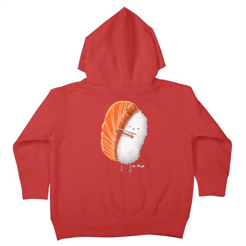Sushi Hug Kids Toddler Zip-Up Hoody by T2U