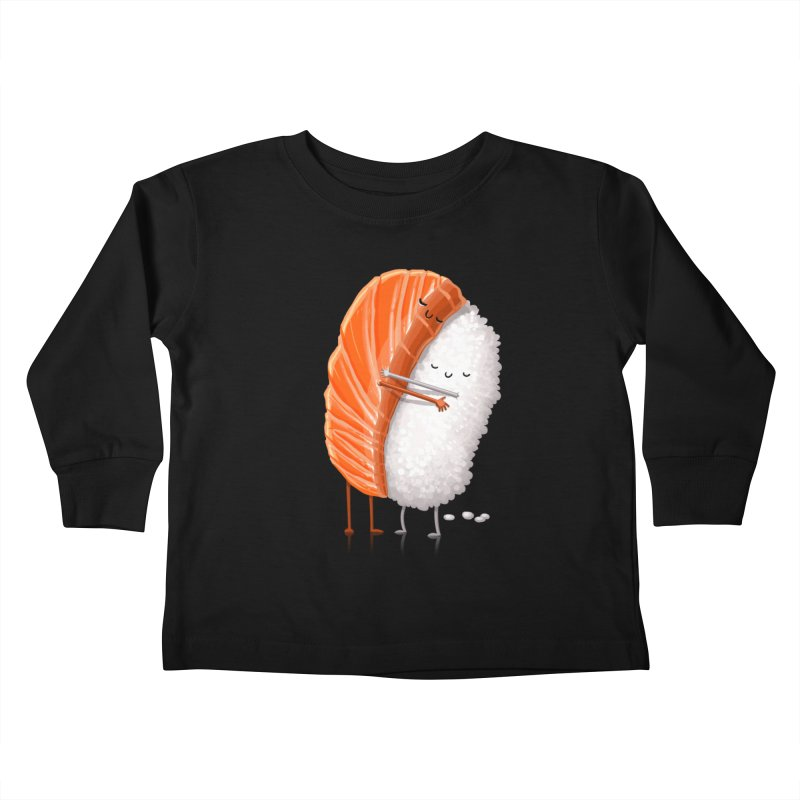 Sushi Hug Kids Toddler Longsleeve T-Shirt by T2U