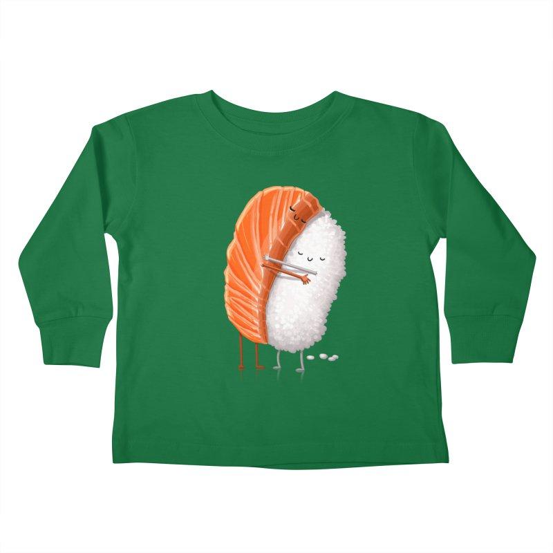 Sushi Hug Kids Toddler Longsleeve T-Shirt by T2U