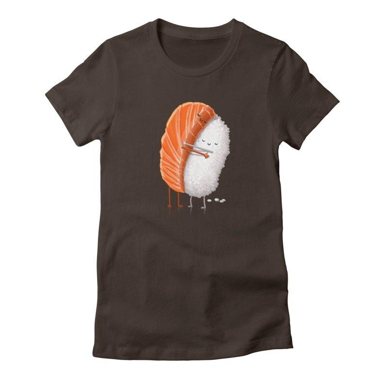 Sushi Hug Women's T-Shirt by T2U
