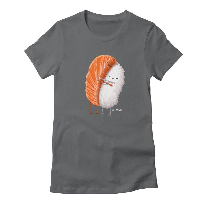 Sushi Hug Women's Fitted T-Shirt by T2U