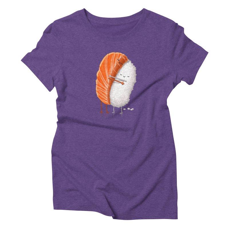 Sushi Hug Women's Triblend T-Shirt by T2U