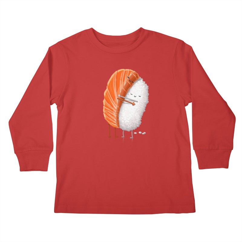 Sushi Hug Kids Longsleeve T-Shirt by T2U