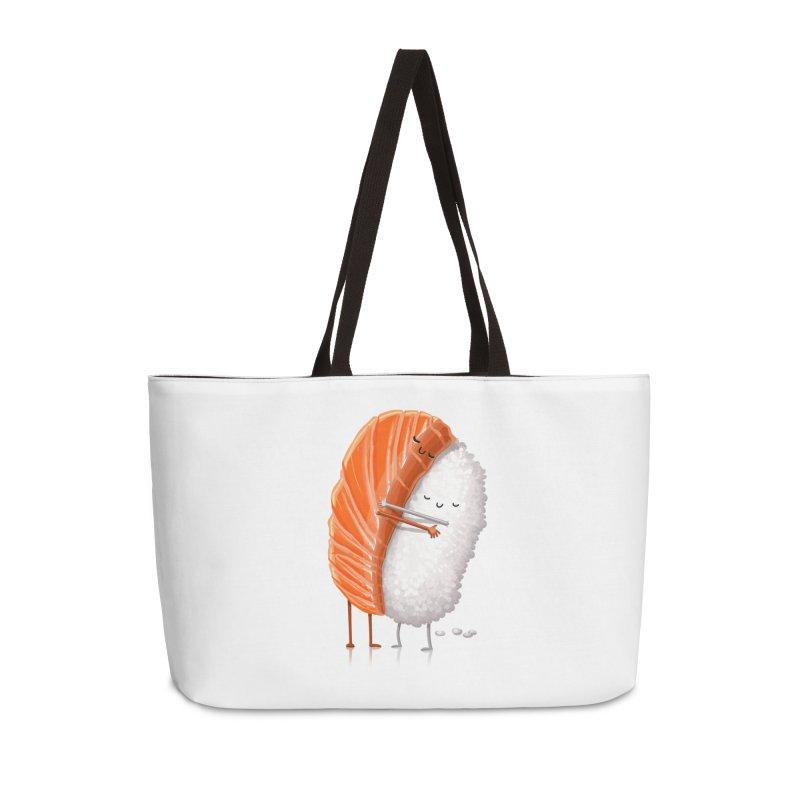 Sushi Hug Accessories Weekender Bag Bag by T2U