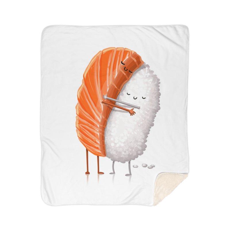 Sushi Hug Home Sherpa Blanket Blanket by T2U