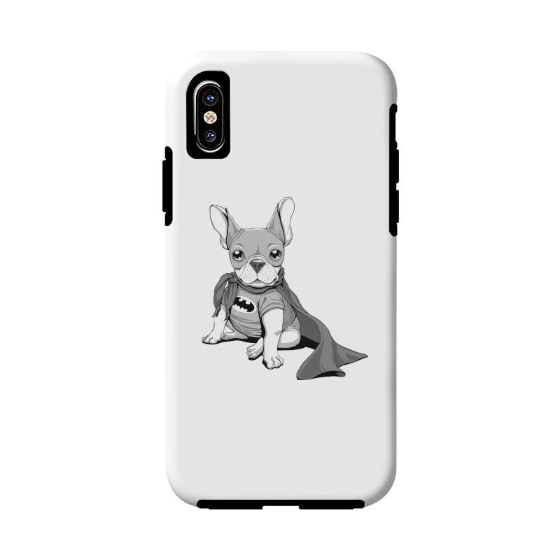 French Batdog Accessories Phone Case by T2U