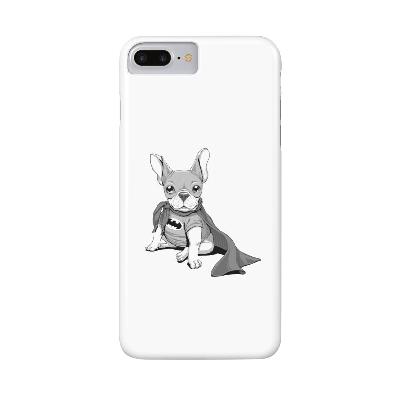 French Batdog Accessories Phone Case by T2U