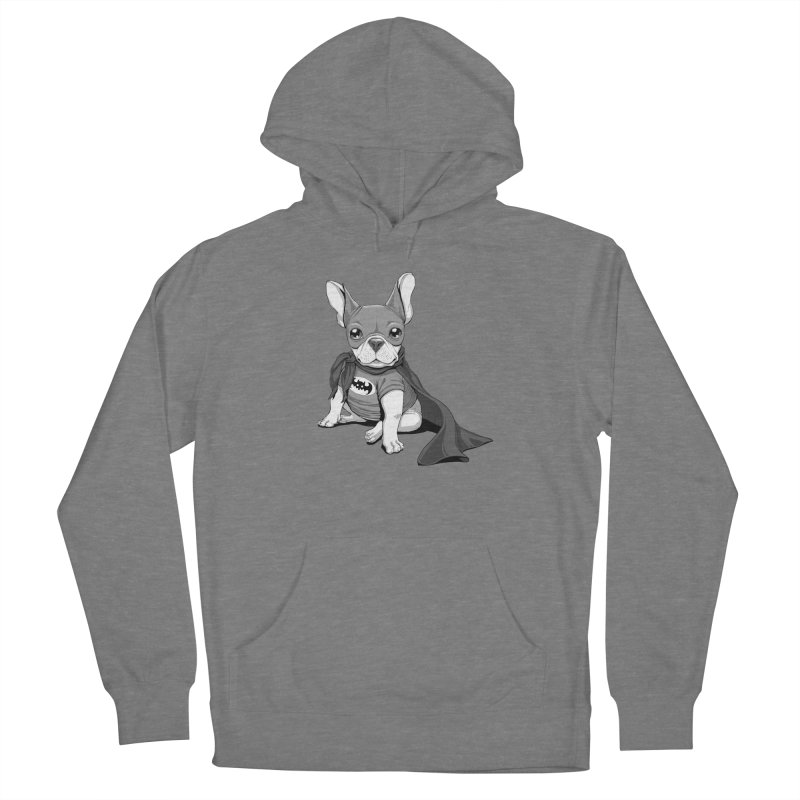 French Batdog Women's French Terry Pullover Hoody by T2U