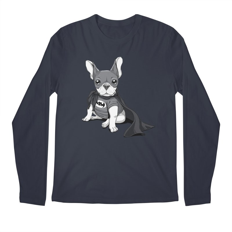 French Batdog Men's Regular Longsleeve T-Shirt by T2U