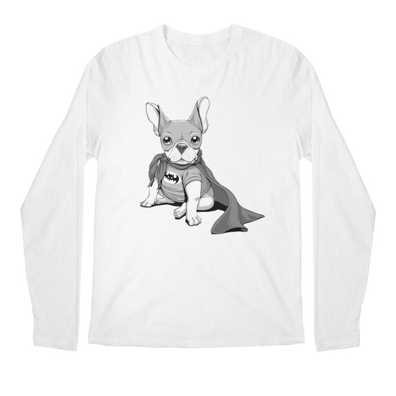 French Batdog Men's Regular Longsleeve T-Shirt by T2U