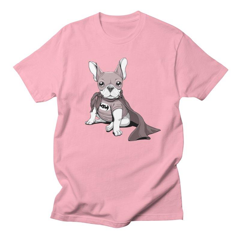 French Batdog Men's Regular T-Shirt by T2U