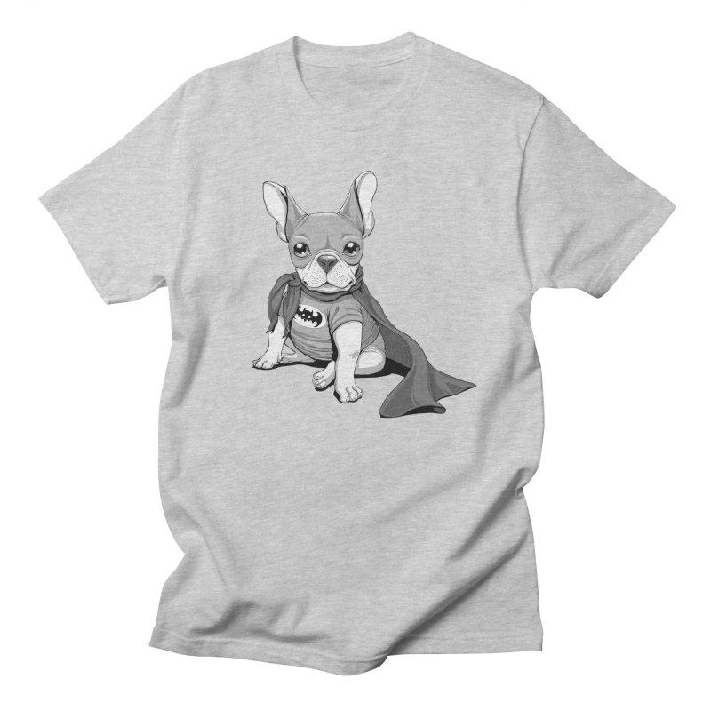 French Batdog Men's T-shirt by Tiago Möller Art Shop