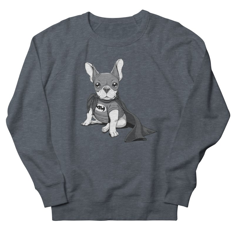 French Batdog Men's Sweatshirt by Tiago Möller Art Shop