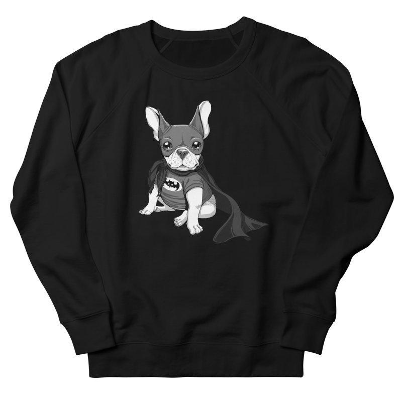 French Batdog Men's Sweatshirt by Tiago Möller Art Shop