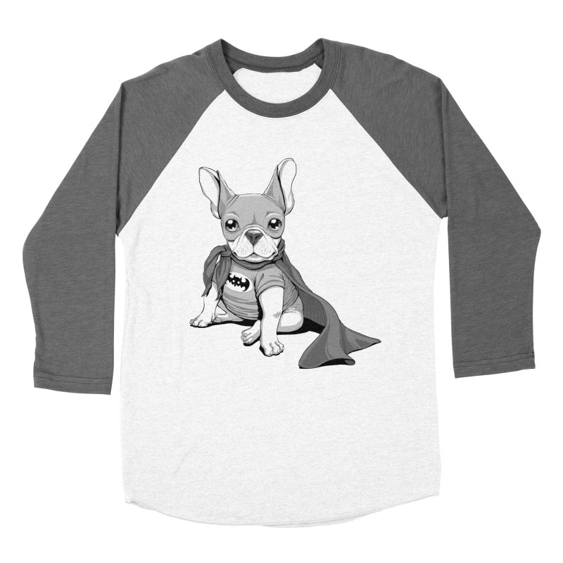 French Batdog Women's Longsleeve T-Shirt by T2U