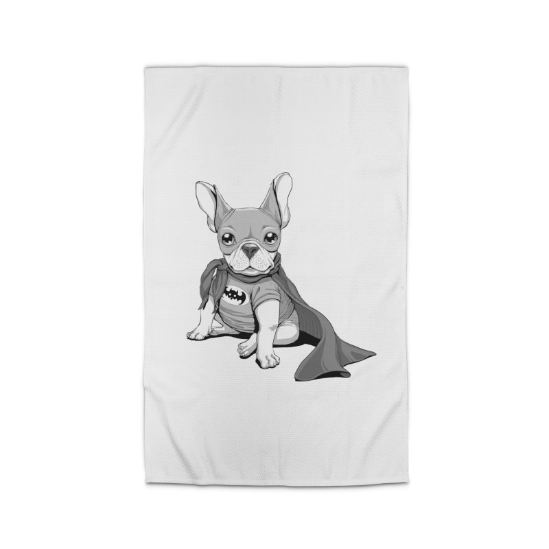 French Batdog Home Rug by T2U