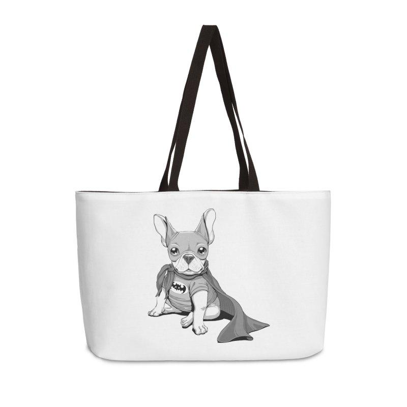 French Batdog Accessories Bag by T2U