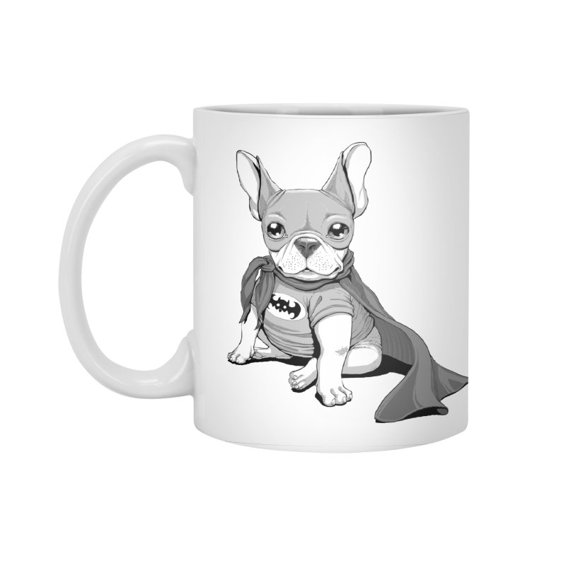 French Batdog Accessories Standard Mug by T2U