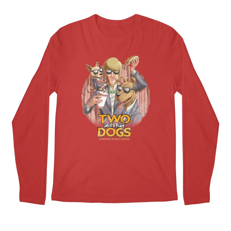 Two and a Half Dogs Men's Longsleeve T-Shirt by T2U