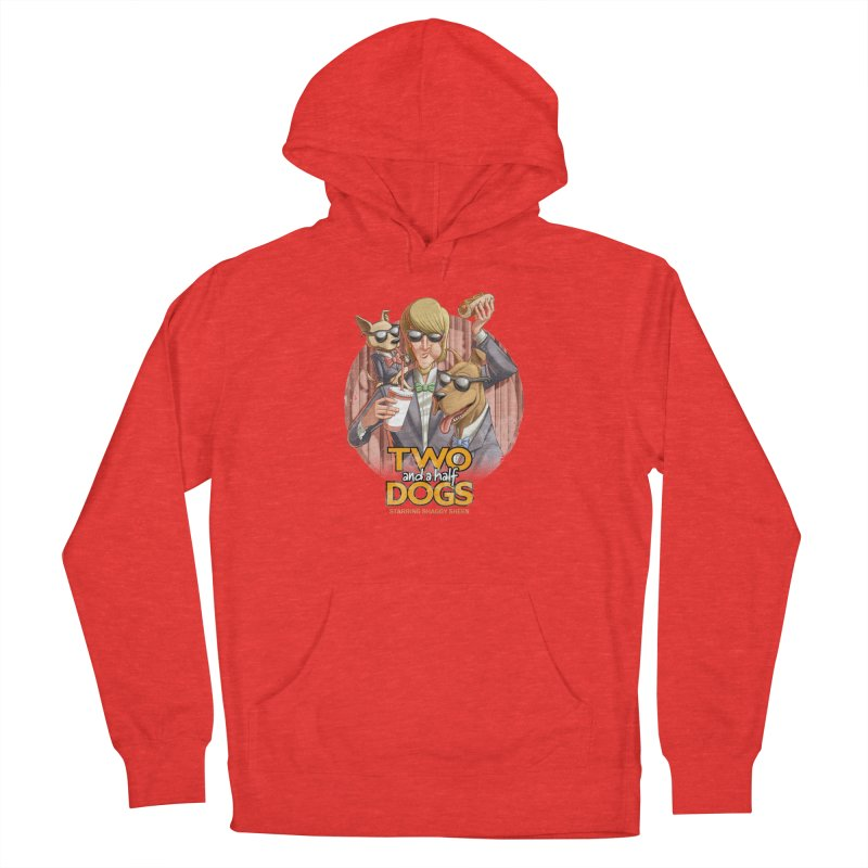 Two and a Half Dogs Men's Pullover Hoody by T2U