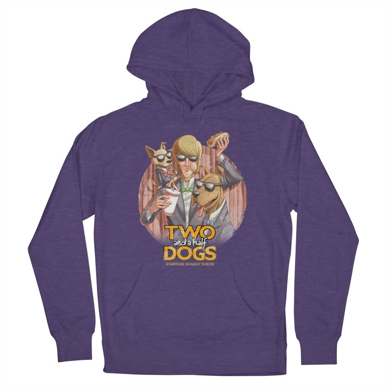 Two and a Half Dogs Women's Pullover Hoody by Tiago Möller Art Shop