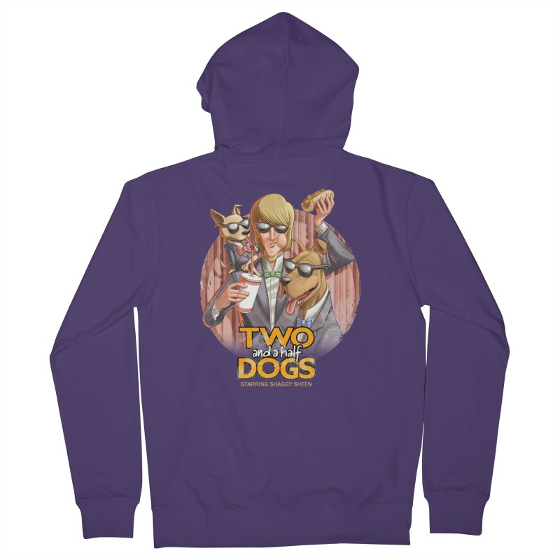 Two and a Half Dogs Women's French Terry Zip-Up Hoody by T2U