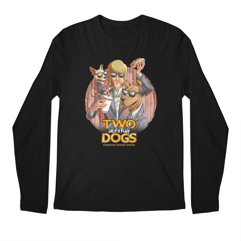 Two and a Half Dogs Men's Regular Longsleeve T-Shirt by T2U