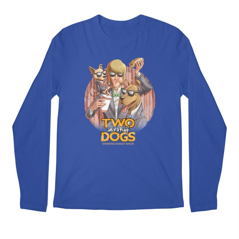 Two and a Half Dogs Men's Longsleeve T-Shirt by Tiago Möller Art Shop