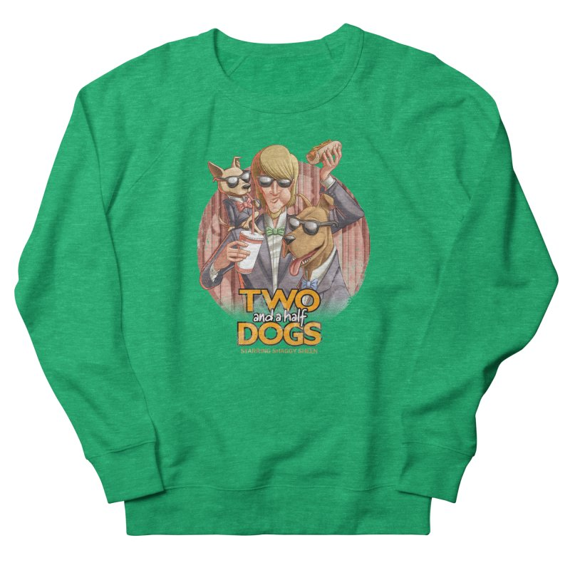 Two and a Half Dogs Women's Sweatshirt by T2U