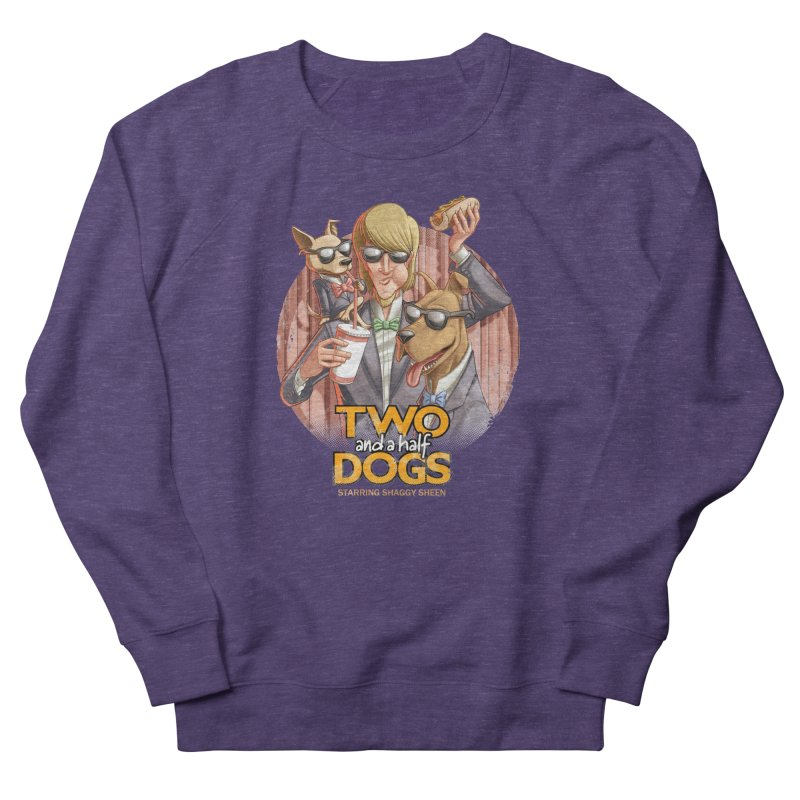 Two and a Half Dogs Men's French Terry Sweatshirt by T2U
