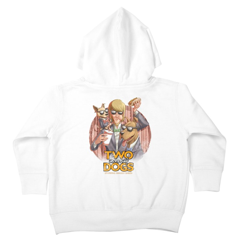 Two and a Half Dogs Kids Toddler Zip-Up Hoody by T2U