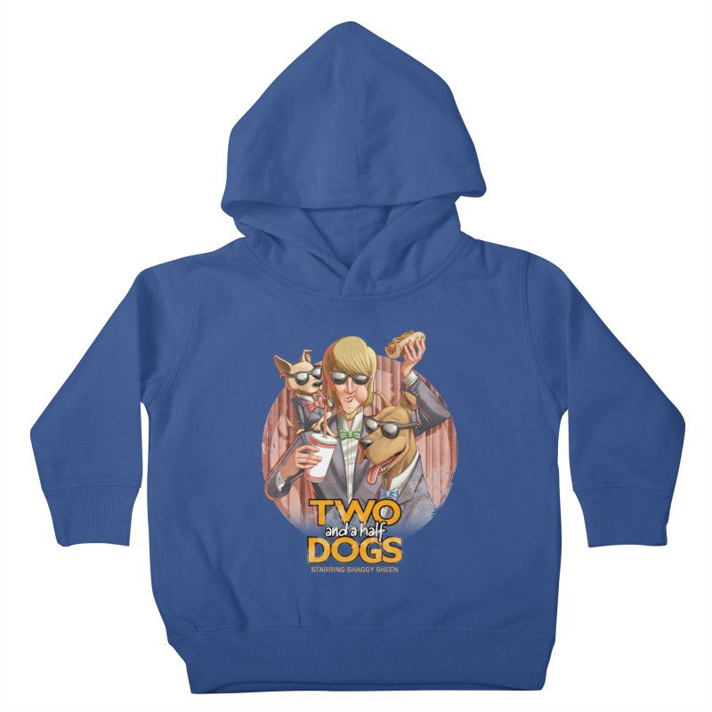 Two and a Half Dogs Kids Toddler Pullover Hoody by T2U