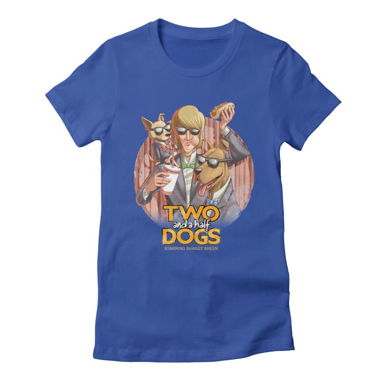 Two and a Half Dogs Women's T-Shirt by T2U