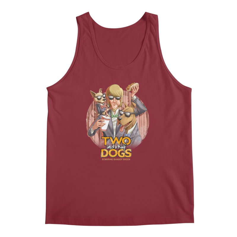 Two and a Half Dogs Men's Tank by T2U