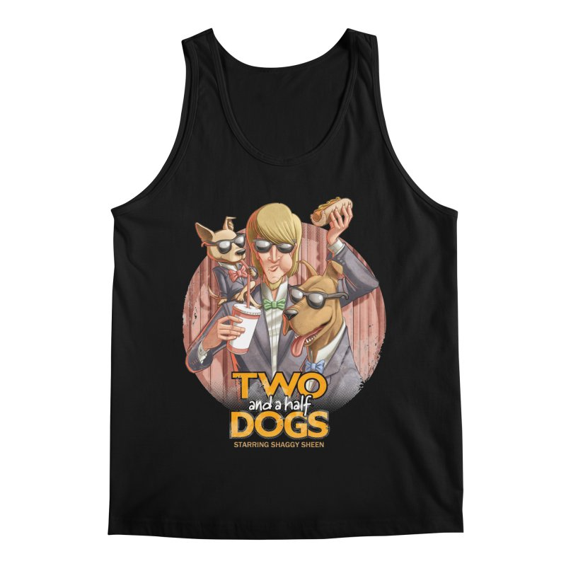 Two and a Half Dogs Men's Regular Tank by T2U