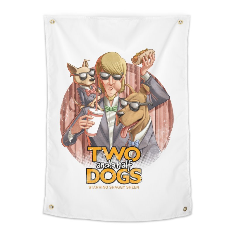 Two and a Half Dogs Home Tapestry by T2U
