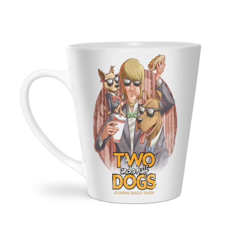 Two and a Half Dogs Accessories Latte Mug by T2U
