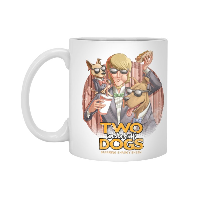 Two and a Half Dogs Accessories Standard Mug by T2U
